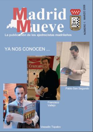 Madrid Mueve número 1 de la Revista de Ajedrez