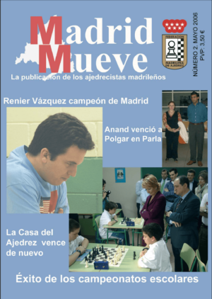 Madrid Mueve número 2 de la Revista de Ajedrez